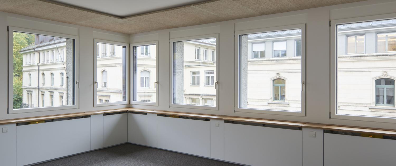 Rosenbergstrasse 30, St. Gallen, Innenansicht ohne Möbel